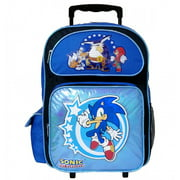 Sonic The Hedgehog Large Rolling Backpack #SH10844