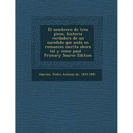 feaa65f57c2a0 Sombrero de Tres Picos