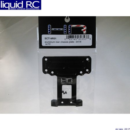 Aluminum Main Chassis (Hot Racing SCT14R01 Aluminum Rear Chassis Plate - B4)