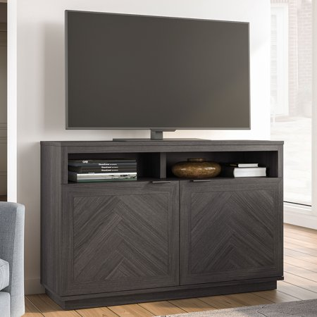"Better Homes & Gardens Hendrix Herringbone Style TV Console, Fits TVs up to 55"" & - Library Console"