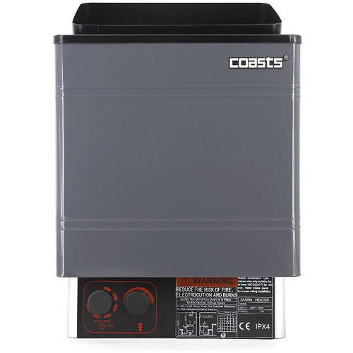 Coasts AM30mID4 Sauna Heater 3KW 240V with CON 4 Outer Digital Controller for Spa Sauna... by COASTS