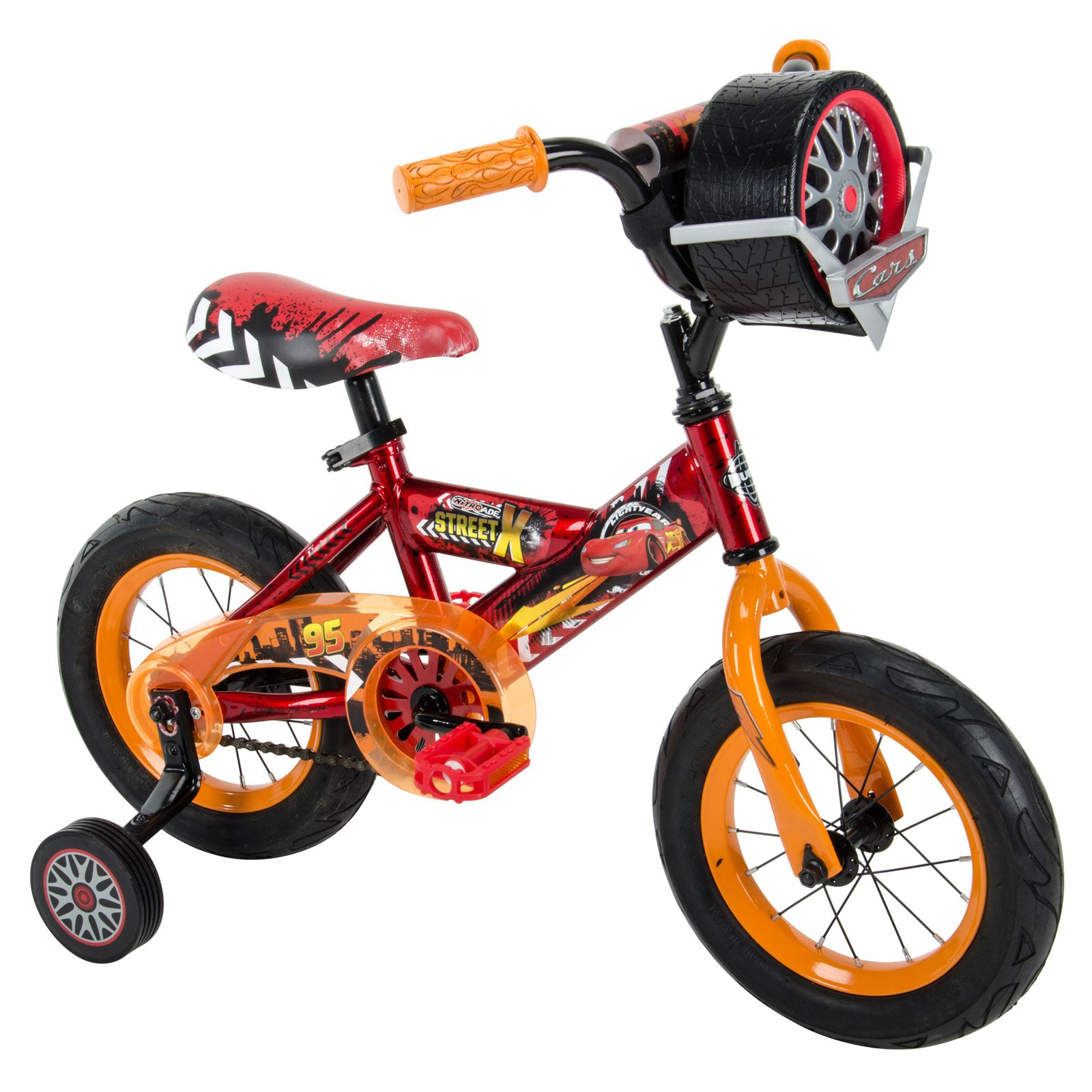 Huffy 12 in. Disney Cars 3 Bike with Race-Ready Tire Case