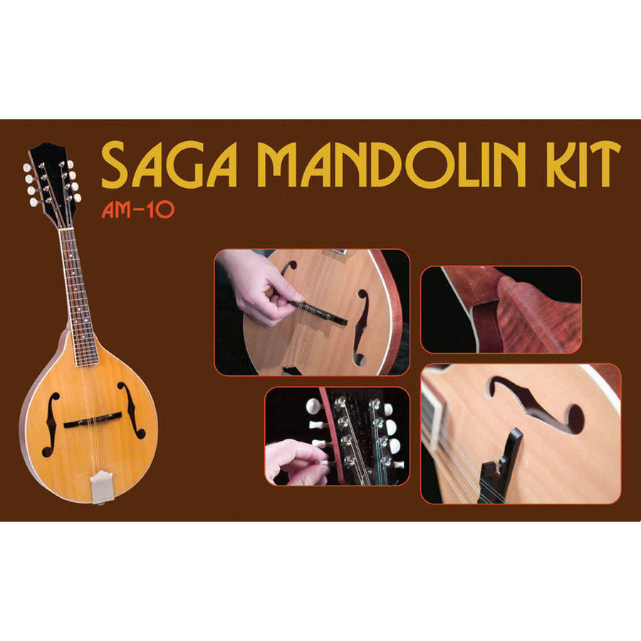 Saga AM-10 A-Model Mandolin Kit by Saga