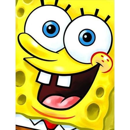 SpongeBob SquarePants 'Party' Invitations and Thank You Notes w/ Env. - Spongebob Valentine Cards