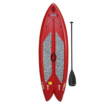 Lifetime Freestyle XL 98 Red Stand-Up Paddleboard (Paddle Included),
