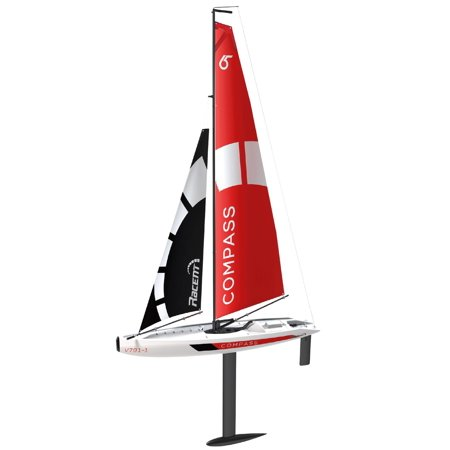 Electric Rc Sailboat - POCO DIVO Sailing Boat Compass RG65 Class Competition RC Sailboat 2.4Ghz 650mm RTR Wind Power Model Sail Yacht