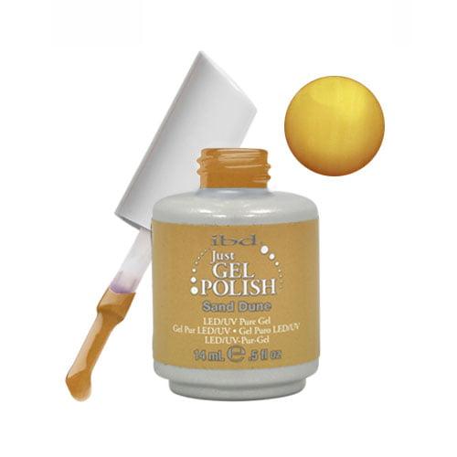 IBD Just Gel 0.5oz Soak Off Nail Polish Brown, SAND DUNE, 56544