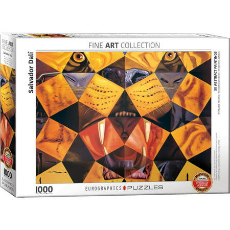 Salvador Dali Fifty Abstract Paintings 1000-Piece Puzzle ()