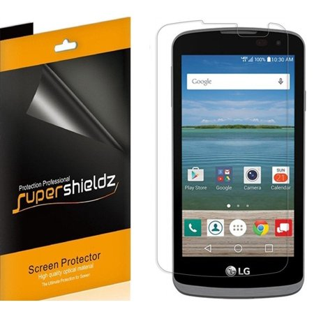 [6-pack] Supershieldz for LG K4 LTE LG Optimus Zone 3 LG Spree Screen Protector, Anti-Glare & Anti-Fingerprint (Matte)