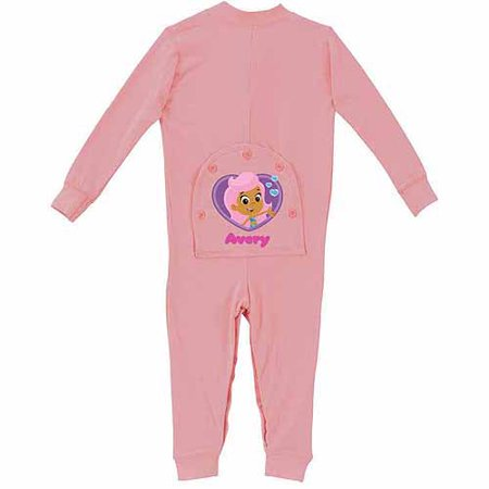 Personalized Bubble Guppies Baby Girl Pink Playwear