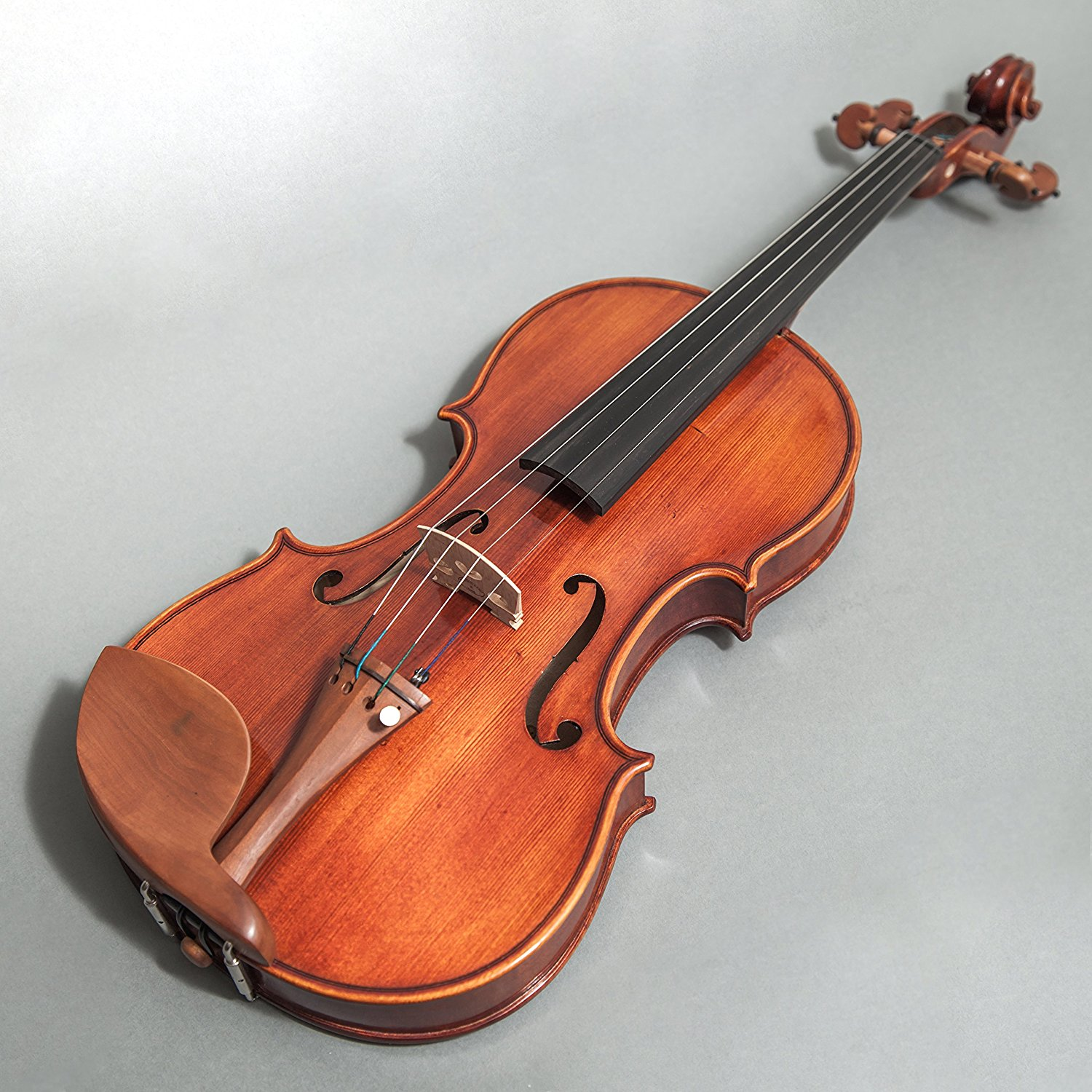 Sky FL001-JB-C350 Hand Made Professional 4/4 Full Size Violin Jujube Wood Fitted Highly Flammed