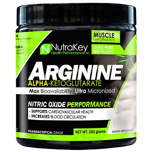 Nutrakey L-Arginine Unflavored - 250 Grams