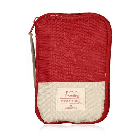 Camping Hiking Travel Home Outdoor Survival Kits Emergency Pouch Case First Aid Kits Bag - image 7 of 7