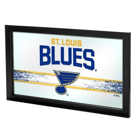 NHL Framed Logo Mirror, St. Louis Blues
