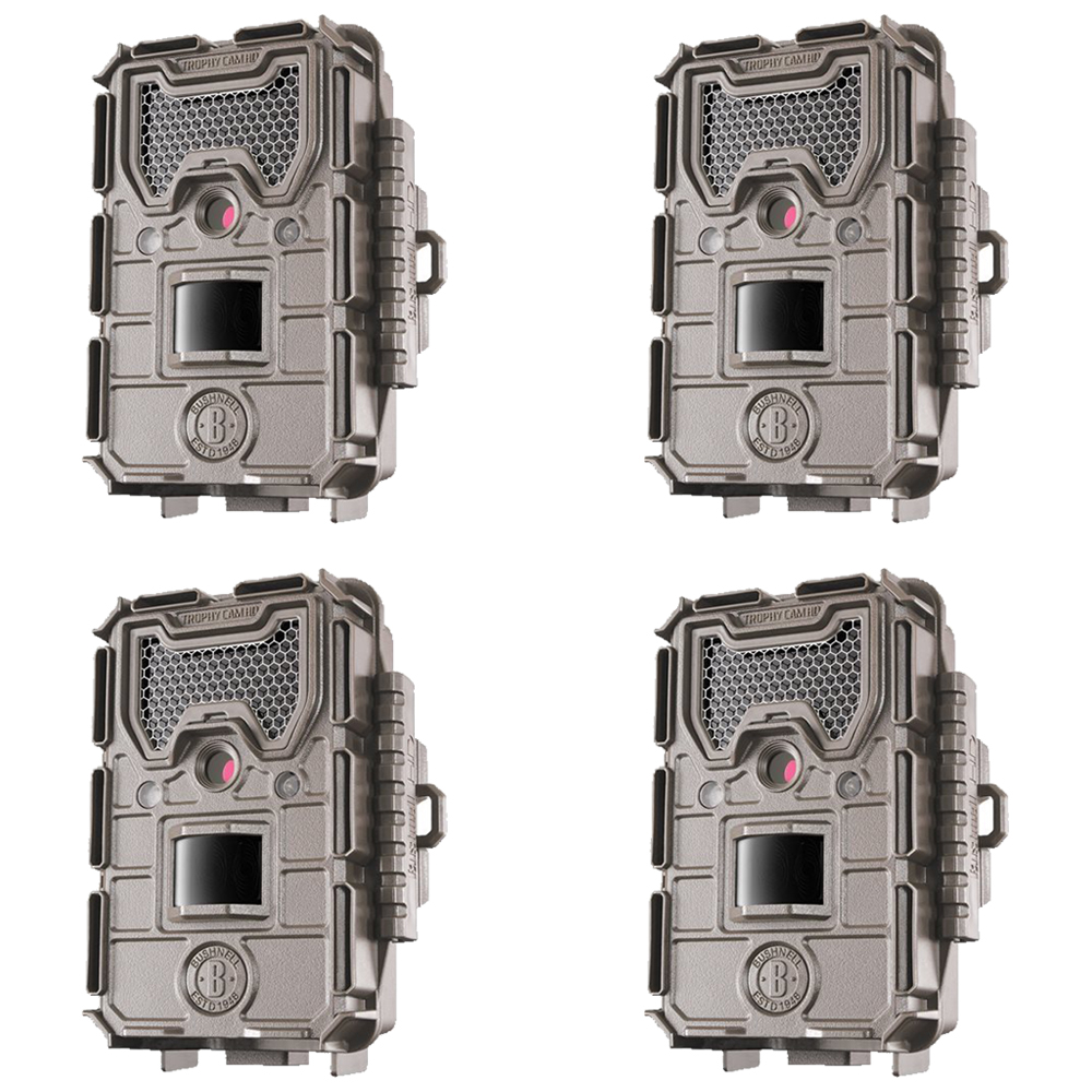 Bushnell 16MP HD Essential E3 Trophy Cam Low Glow Trail C...