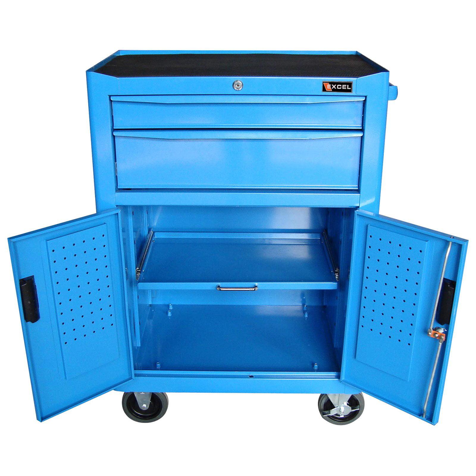 Excel 2 Drawer Roller Tool Cabinet - Walmart.com