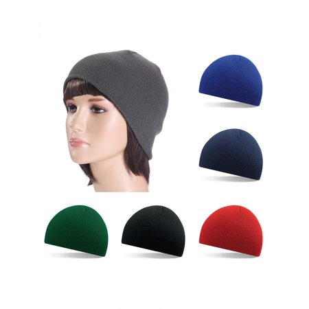 eb26a353a9e Girl12Queen Casual Men Women Hat Hip Hop Cap Solid Color Warm ...