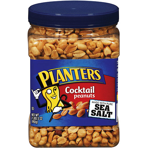 Planters Party Size Cocktail Peanuts, 35 oz