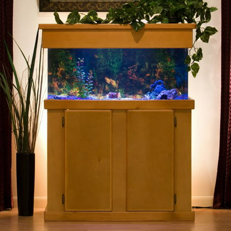 Clear For Life 200R Rectangle UniQuarium - Blue Back