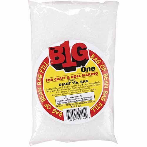 Darice Bean Bag Filler Plastic Pellets, 16 oz