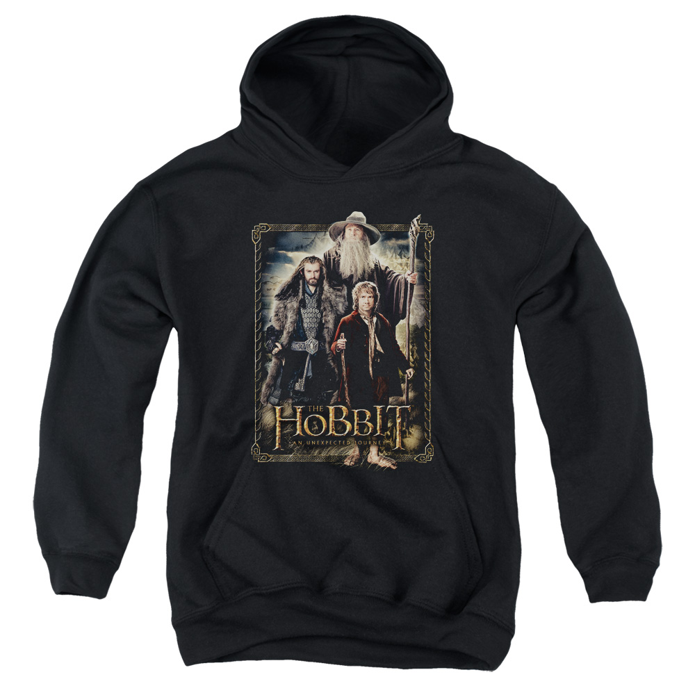 The Hobbit The Three Big Boys Pullover Hoodie