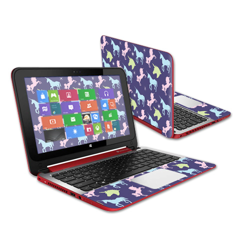 MightySkins Skin Decal Wrap Compatible with HP Sticker Protective Cover 100's of Color Options