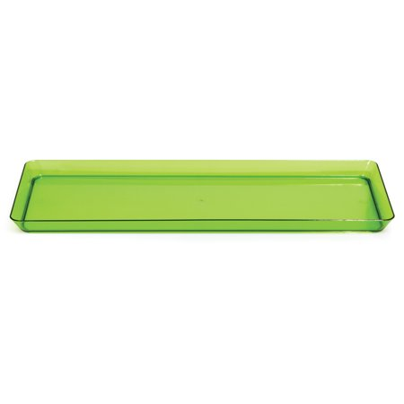 Trendware Translucent Green Serving Tray (Universal Print Tray)