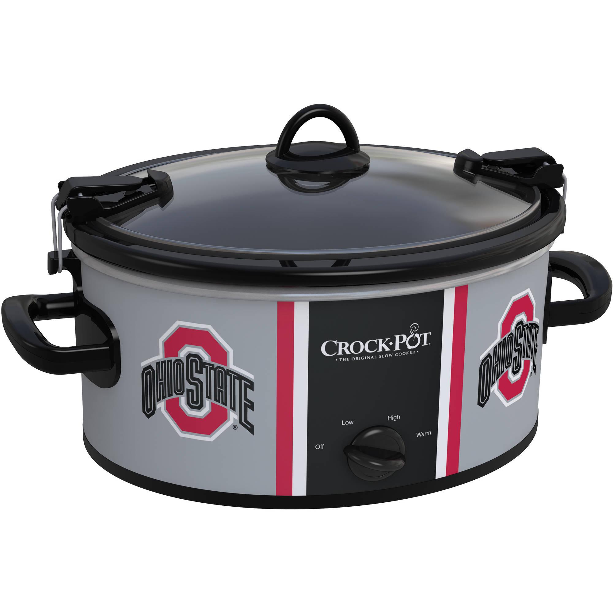 Crock-Pot NCAA 6-Quart Slow Cooker, Various Teams