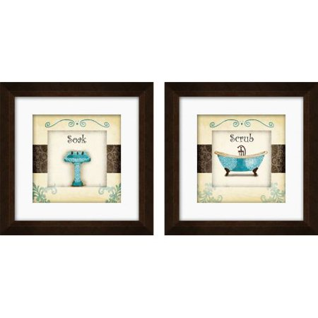 ptm images 1 17005 whimsical bathroom wall art set of 2. Black Bedroom Furniture Sets. Home Design Ideas