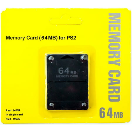 64MB Memory Card Game Memory Card for Sony PlayStation 2