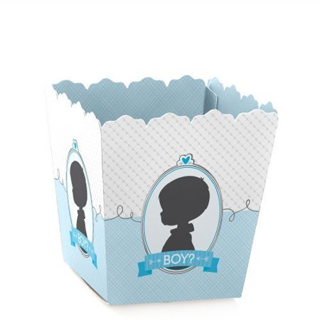 Gender Reveal - Boy - Baby Reveal Party - Party Mini Favor Boxes - Baby Shower Treat Candy Boxes - Set of 12 - Reveal Box
