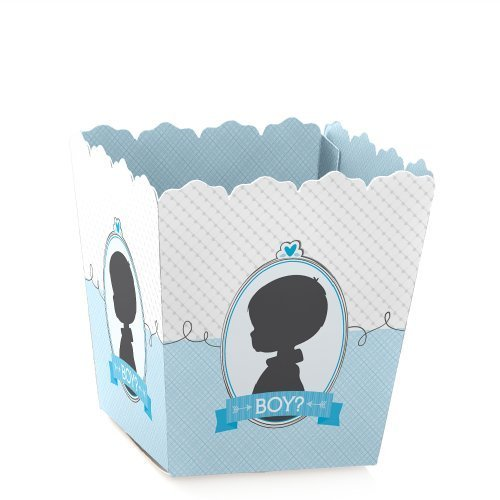 Gender Reveal - Boy - Baby Reveal Party - Party Mini Favor Boxes - Baby Shower Treat Candy Boxes - Set of 12
