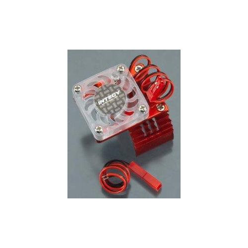 Integy RC Hobby T8074RED Motor Heatsink 540 Size w/ Cooling Fan for Slash, St...