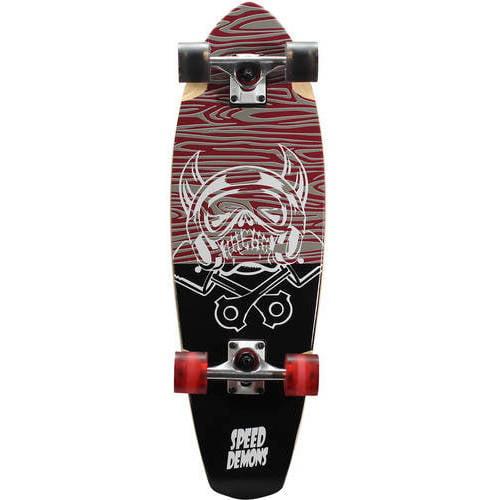"""Speed Demons V-Lam Cruiser Complete Skateboard (29"""" x 9"""")"""