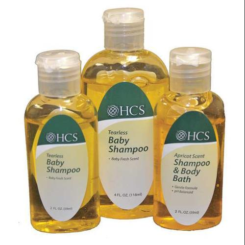 HCS HCS0072-2 Baby Shampoo,2 oz.,Liquid,PK96 G0275865