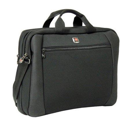 Wenger Swissgear Lunar Slimcase 16 Laptop Notebook Computer Case Black