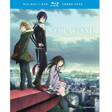 Noragami  The Complete First Season  Japanese   Blu Ray   Dvd   Widescreen