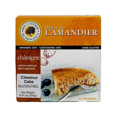 Chestnut Cakes (Biscuiterie de Provence - Almond Chestnut Cake, Gluten Free - 8.47 oz )
