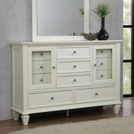 Coaster Company Sandy Beach 11-Drawer Dresser White