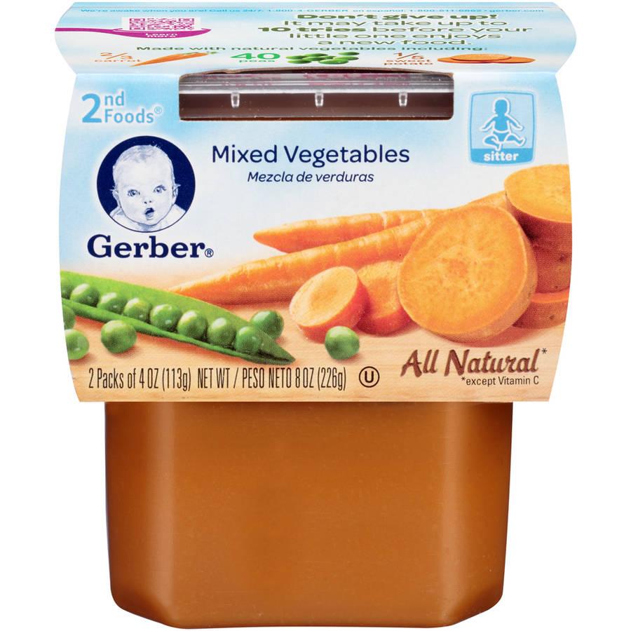 Gerber Baby Food St Foods Age