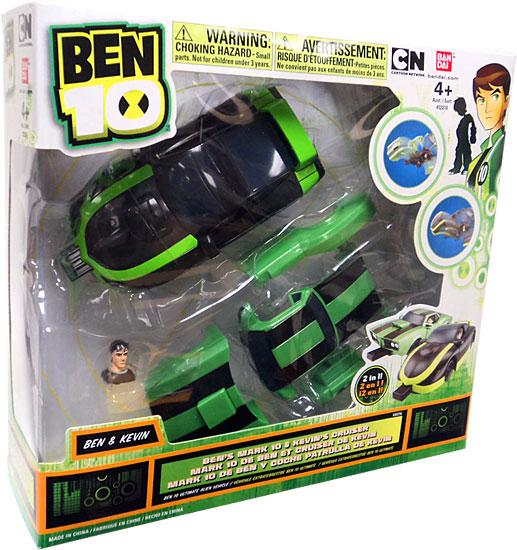 Ben 10 Ben's Mark 10 & Kevin's Cruiser