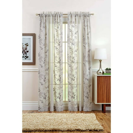 Better Homes And Gardens Garden Vines Grommet Curtain