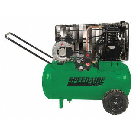 Speedaire 1NNF7 Portable Electric Barrel Air Compressor 135 psi