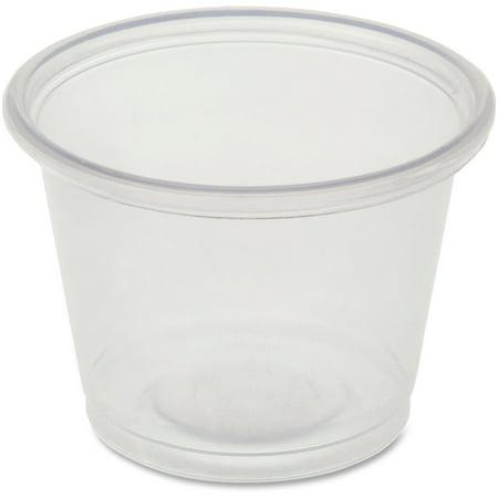 Genuine Joe Portion Cups, 1 fl oz, 2500 / Carton, GJO19060 - 1oz To Cups