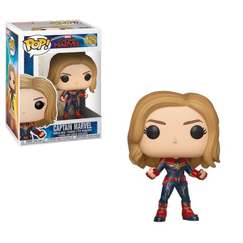 Funko POP! Marvel: Captain Marvel - Captain Marvel