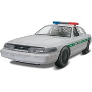 Revell S1688 1/25 Ford Police Car Build/Play