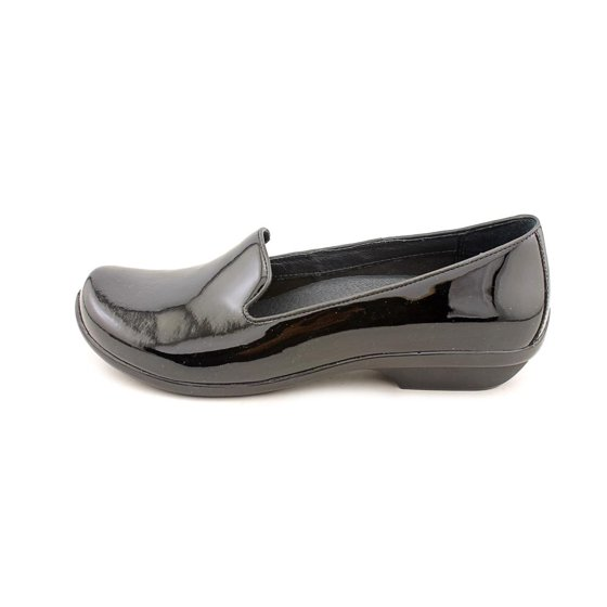 e929e6bf416 Dansko - Dansko Olivia Women Round Toe Patent Leather Black Loafer ...