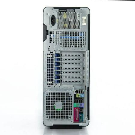 Refurbished Dell Precision T7500 Workstation 2x E5620 Quad Core 2.4Ghz 48GB 2TB Dual DVI Win 10 Pre-Install - image 3 of 3