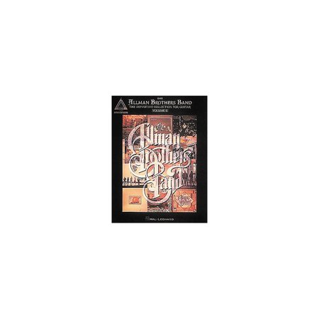 Hal Leonard The Allman Brothers Band Definitive Guitar Tab Songbook Collection Volume 2 Collection Guitar Tab Songbook