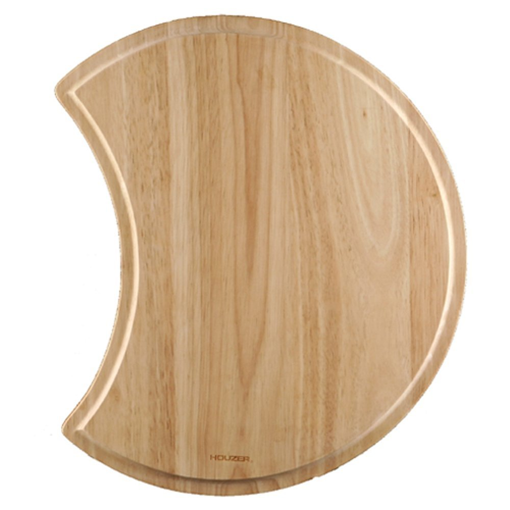 "Houzer CB-1800 Endura Hardwood Cutting Board, 16.12"" Dia."